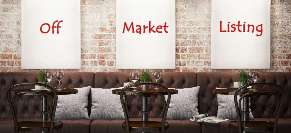 'Off Market' Commercial Listings Available