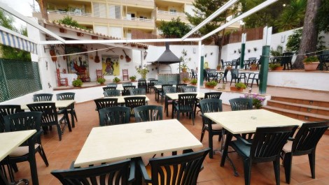 Cafeteria/Restaurant for Sale in Paguera – Leasehold/Traspaso