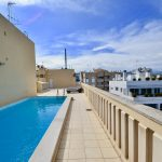 Apartment with Sea views, Swimming Pool & Parking on Paseo Maritimo Palma
