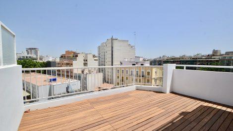 Refurbished Three Bedroom Apartment in Palma Centre Paseo Mallorca – Long Term Rental
