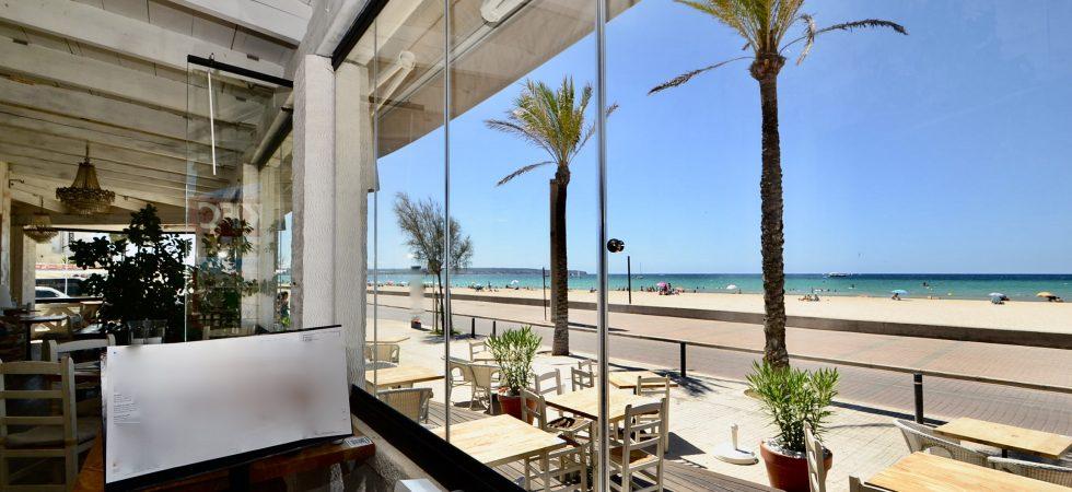 Beach Bar & Restaurant in Palma Mallorca – Leasehold (Traspaso)