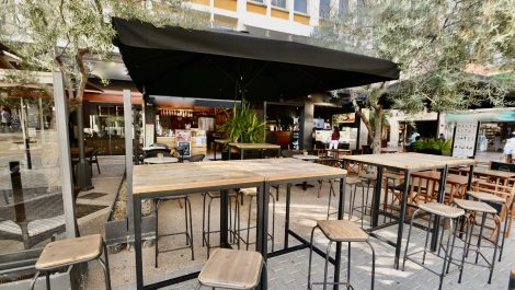 Bar Cafeteria in a Prime location in Palma Old Town – Leasehold (Traspaso)