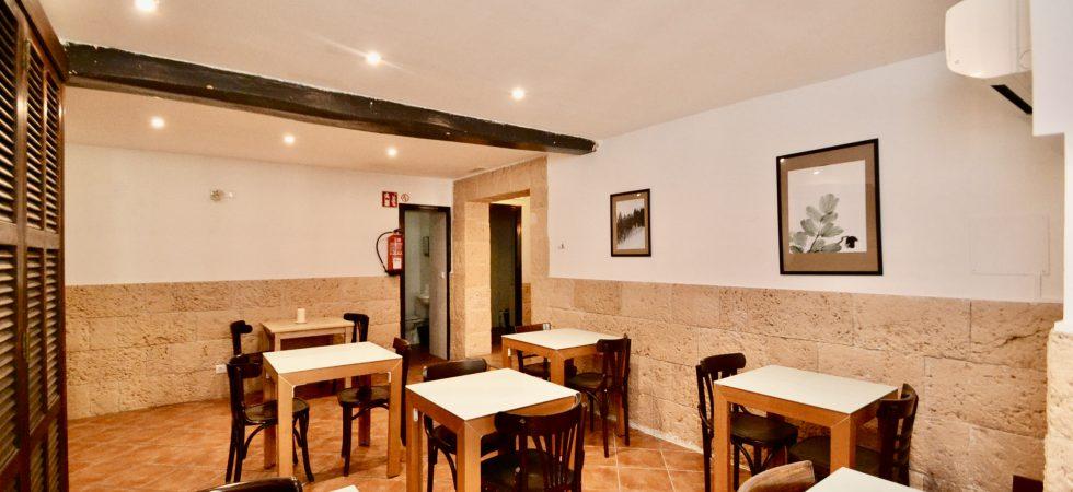 Bar Cafeteria for Sale in La Lonja – Leasehold (Traspaso)- PRICE REDUCED!