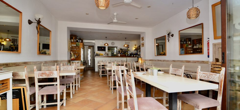 Restaurant front line to the sea in Port Soller – Leasehold (Traspaso)